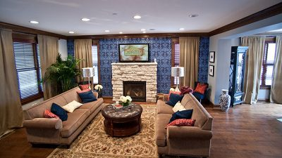 Living Room is the center of your home.