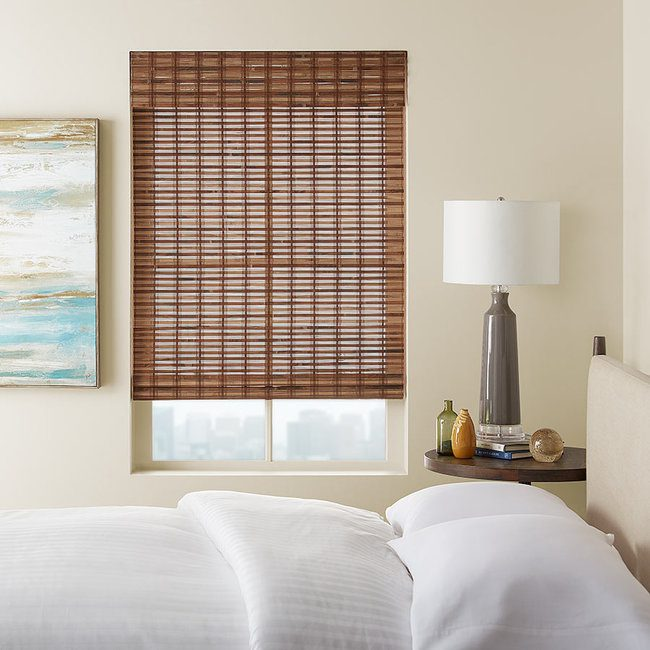 Bamboo Shades bring warmth and texture to any space.