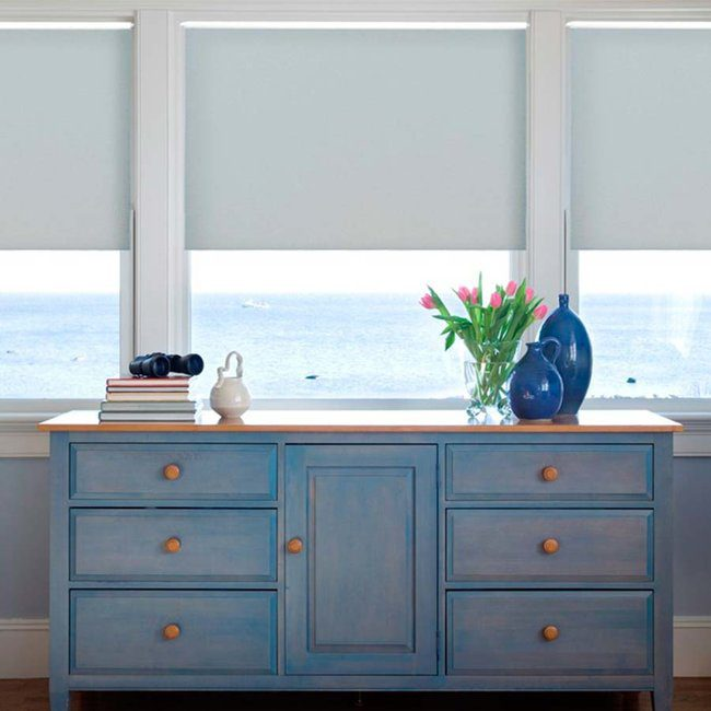 Swap out your window coverings with seasons.
