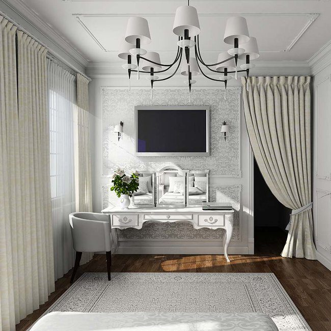 Use curtains for more than just windows!