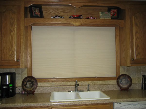Cellular shades for your kitchen
