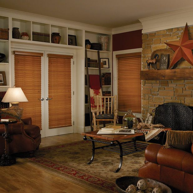 Rsz French Doors Wood Blinds