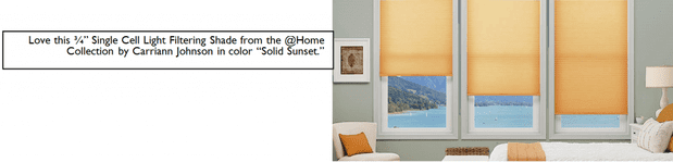 Express yourself with window coverings