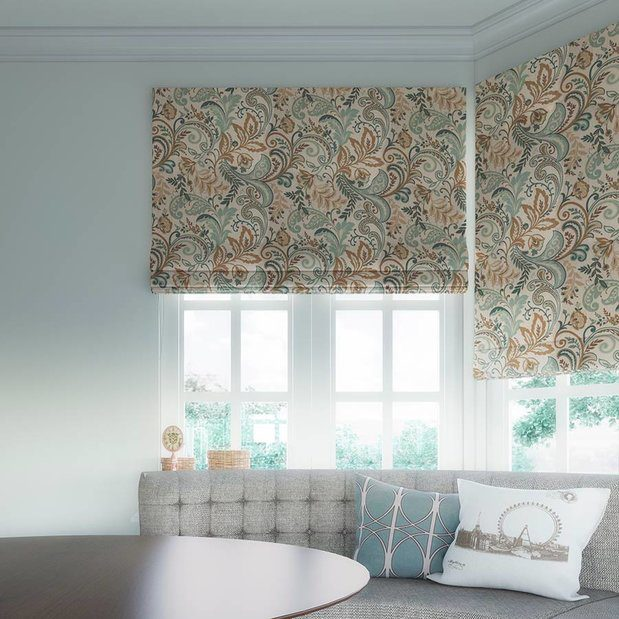 Print Roman Shades make a statement in your windows.