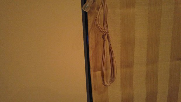 Dangling lift cords visually unappealing, but they're also unsafe.