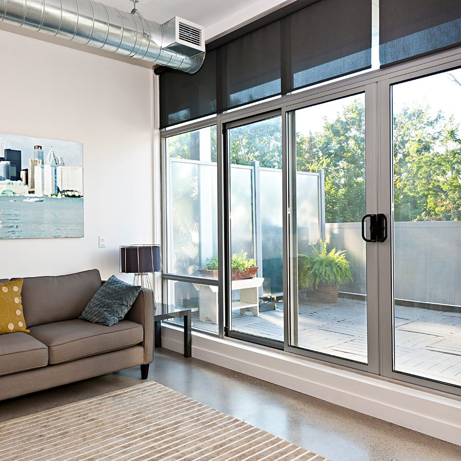 Cell and Solar shades help insulate your home.