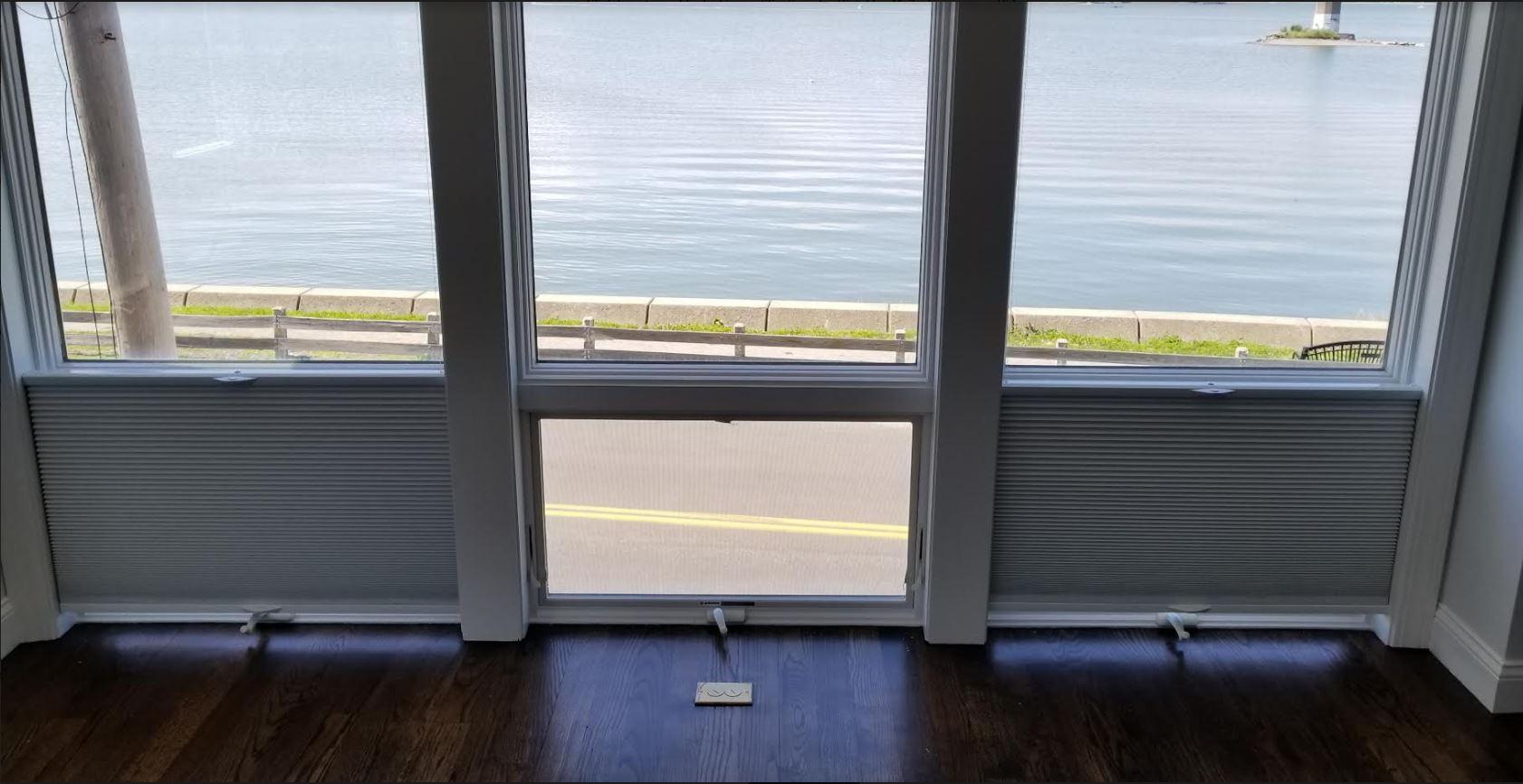 living room windows after