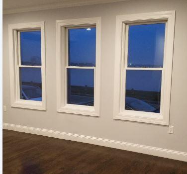 bedroom windows before