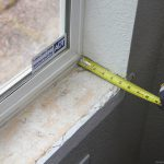 measuring window depth