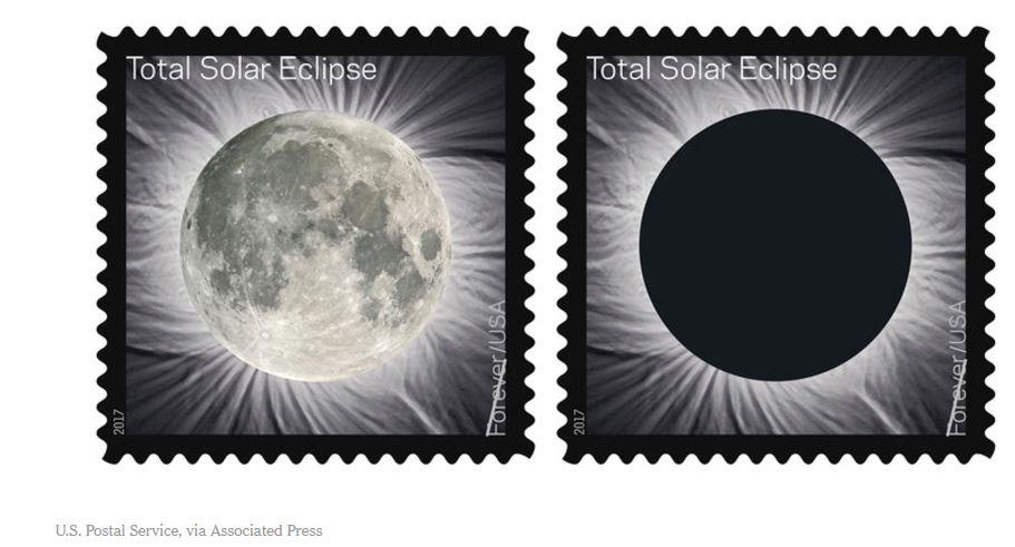 usps solar eclipse stamp