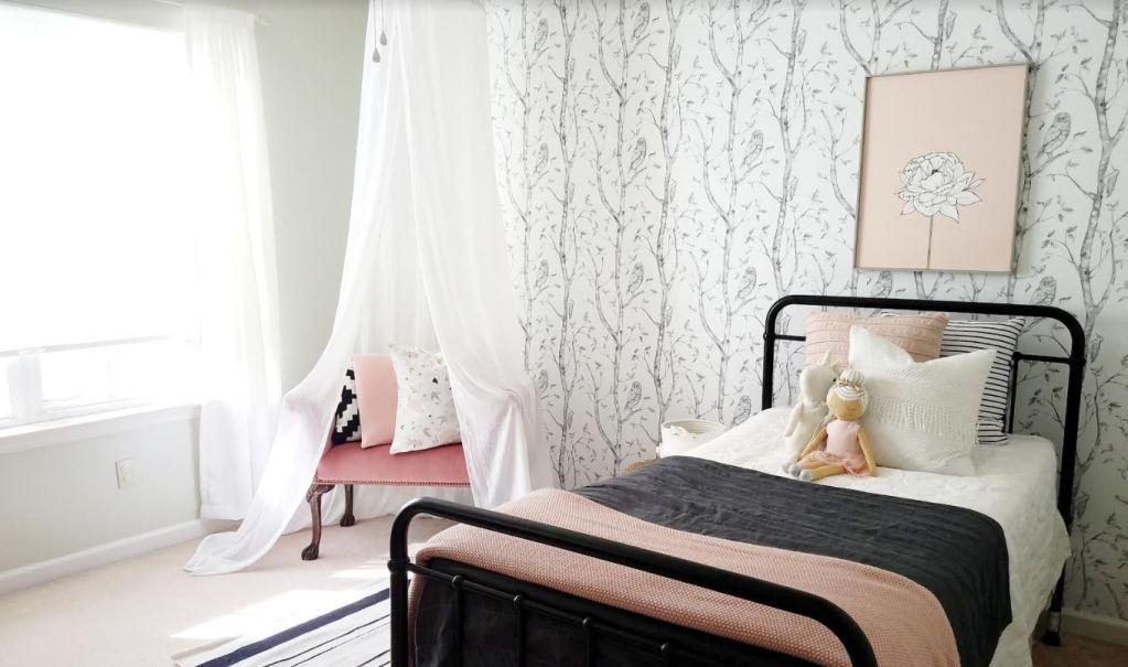 Cynthia Harper's bedroom