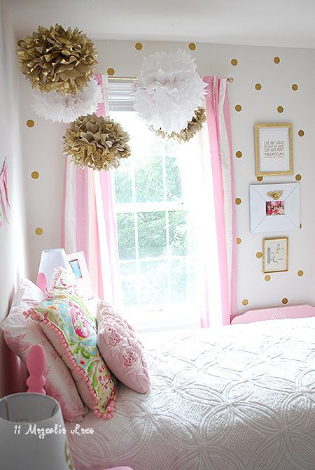 Amy from 11 Magnolia Lane's Girls Room Makeover