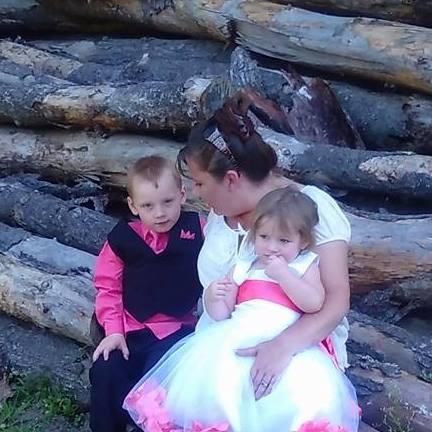 Barbara and her grandkids. So cute!