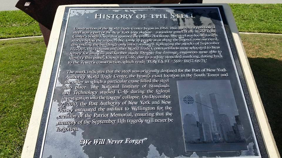 The history of the steel - we will never forget.