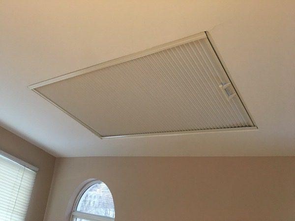 cell shade on skylight