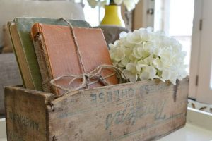 Natural and rustic paired together
