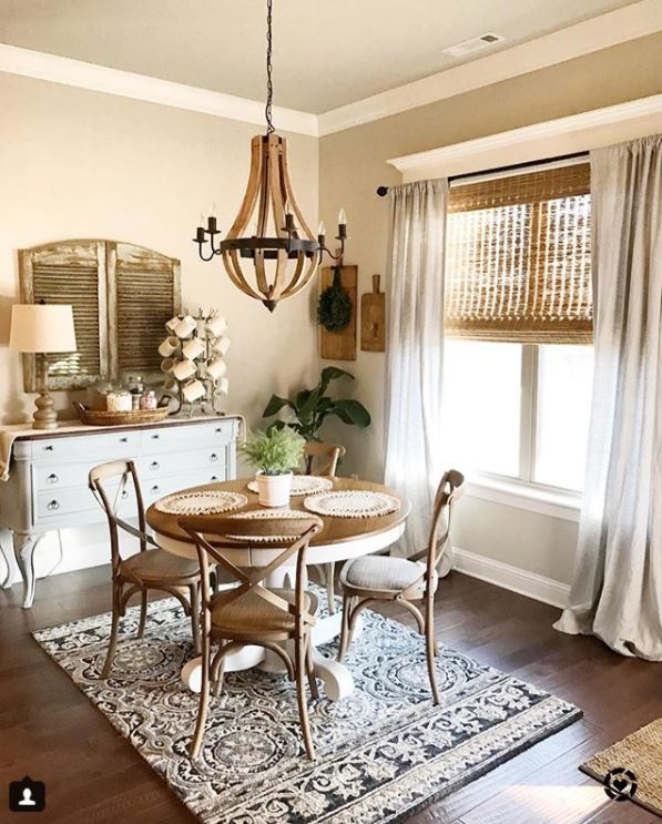 Our Vintage Nest Dining Room