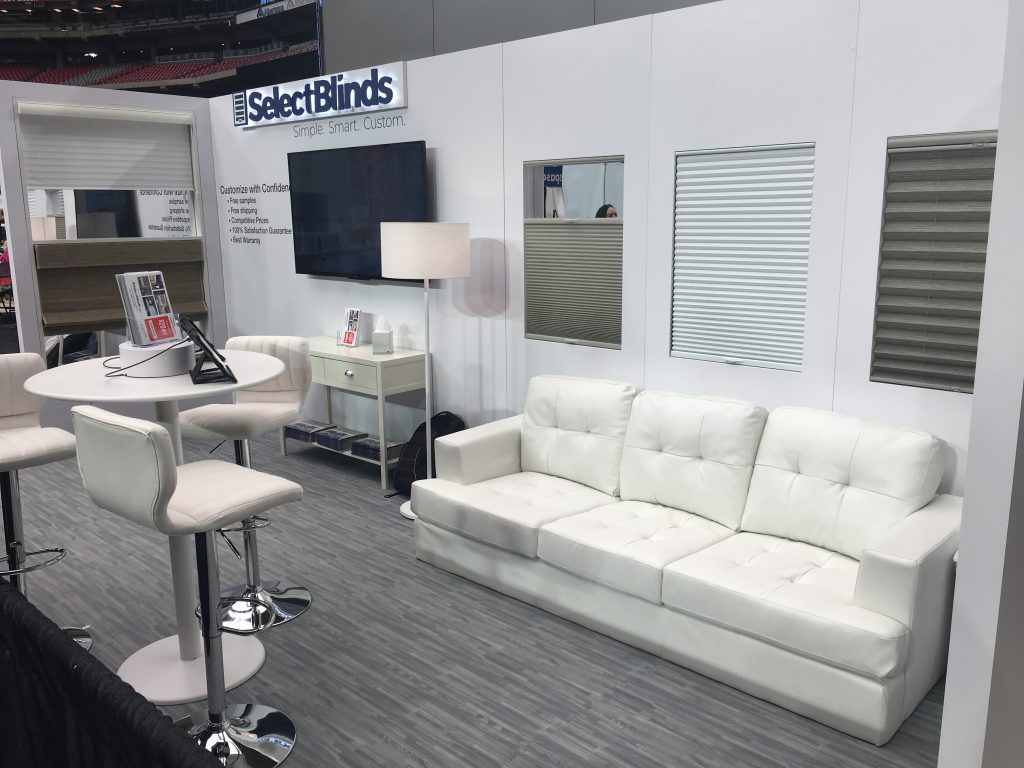 SelectBlinds.com Home and Garden Booth 2018