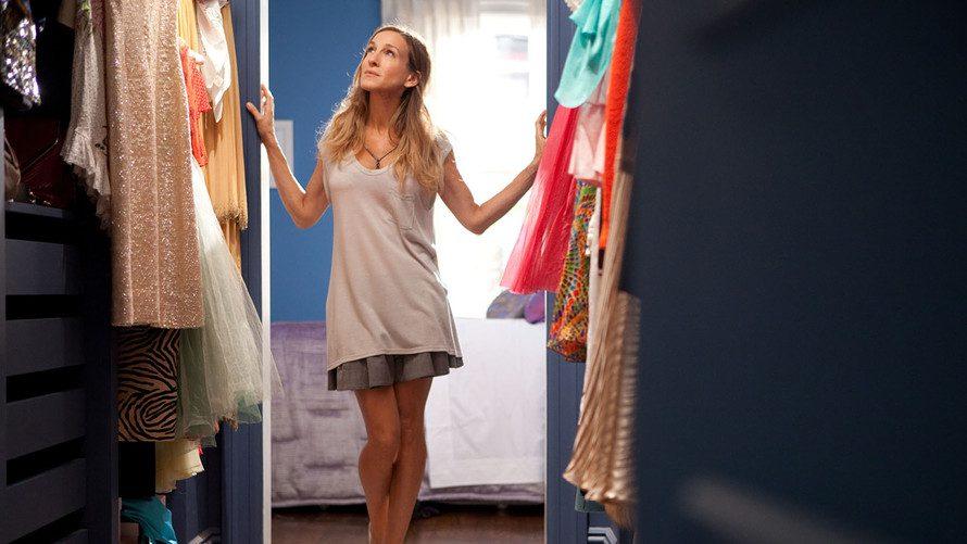 Sara Jessica Parker in closet