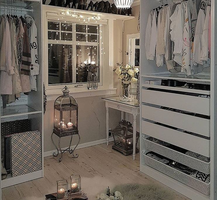 @hanas_home Walk-In Closet