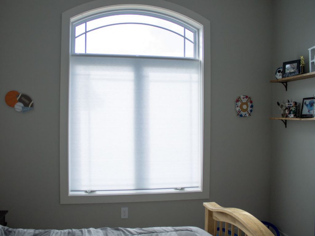 Tracey R is a Happy SelectBlinds.com Customer | Select Single Cell Light Filtering Window Treatments Featured