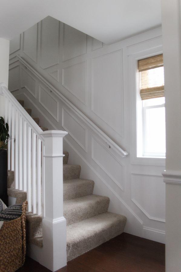 Summer Heath stairwell wall