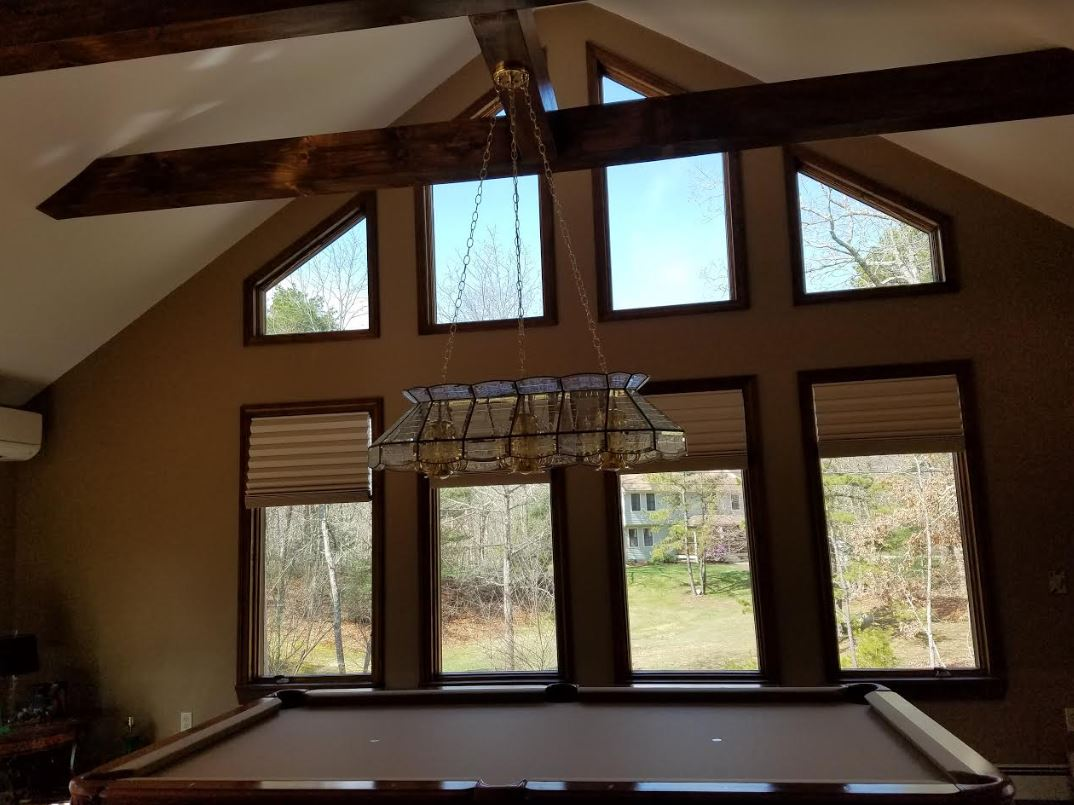 Premier 2-inch blackout cell shades