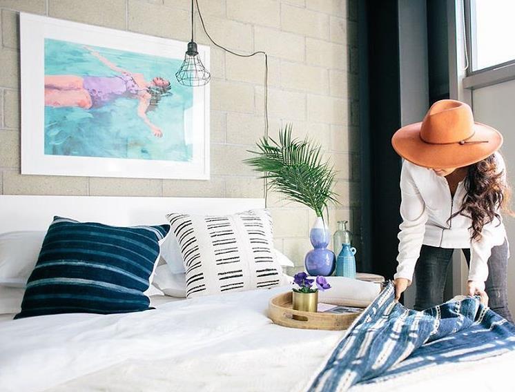 Veronica Valencia Interior Designer- Styling bedroom