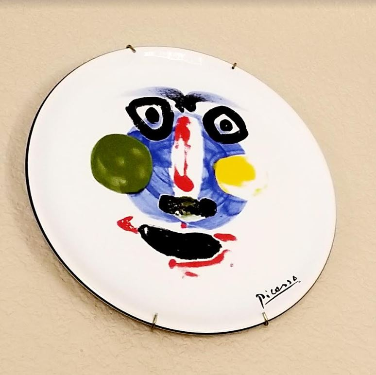 Picasso decorative plate