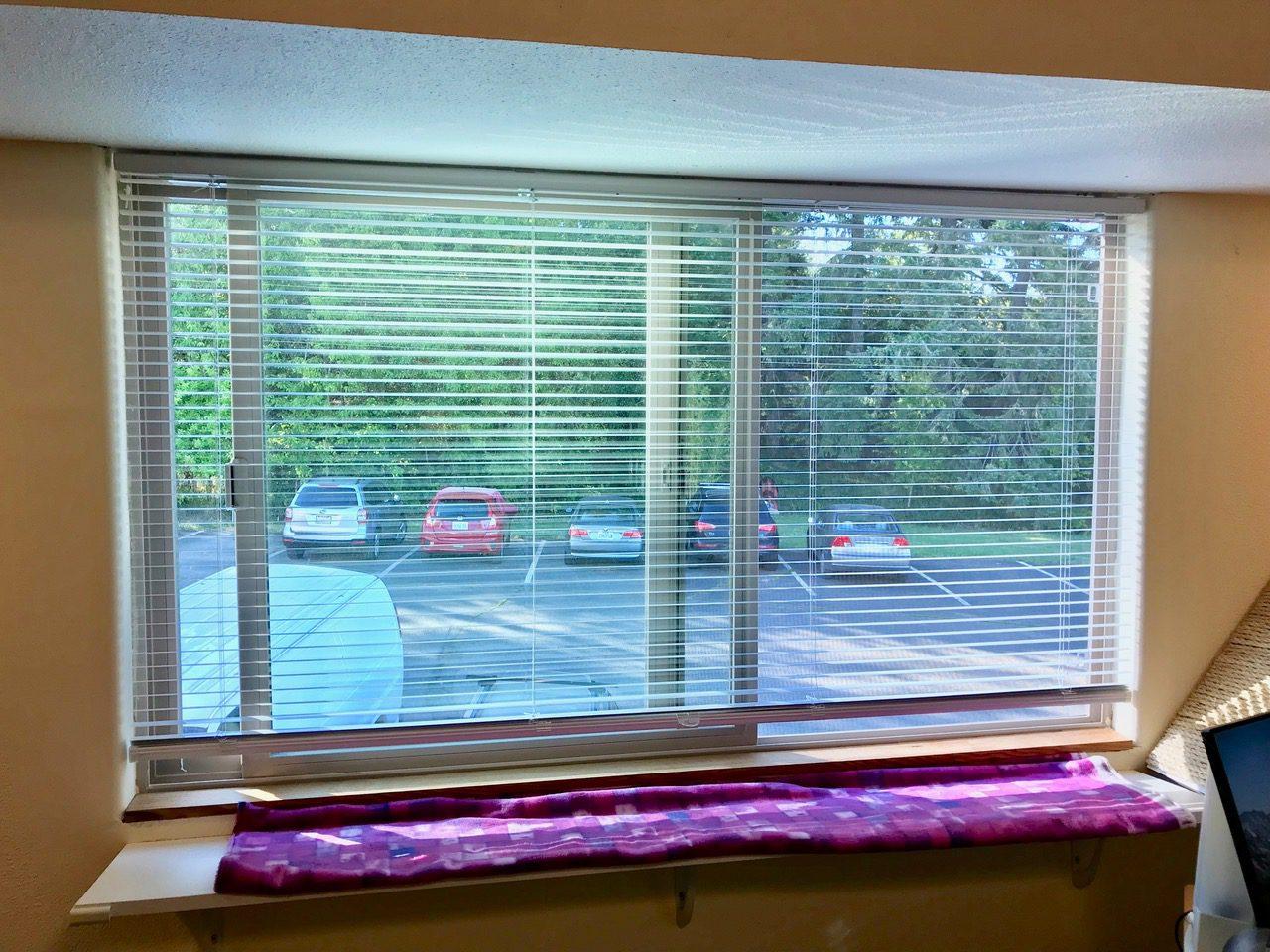 1 inch cordless aluminum mini blinds