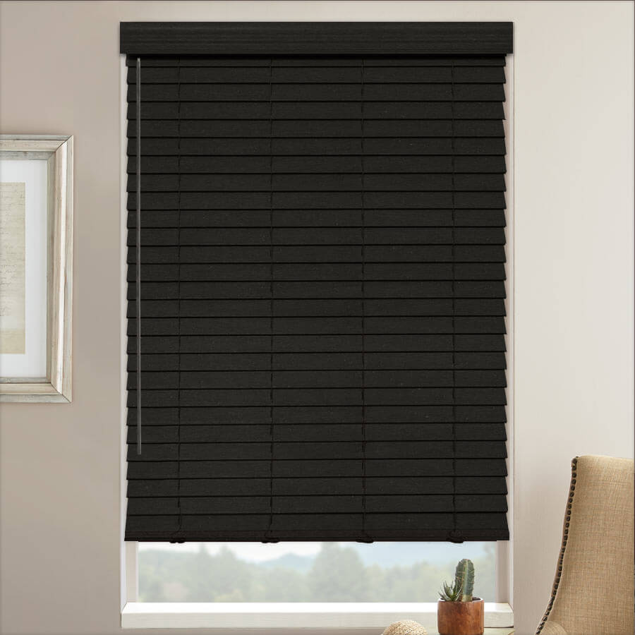 "2"" Select Classic Basswood Wood Blinds from SelectBlinds.com"