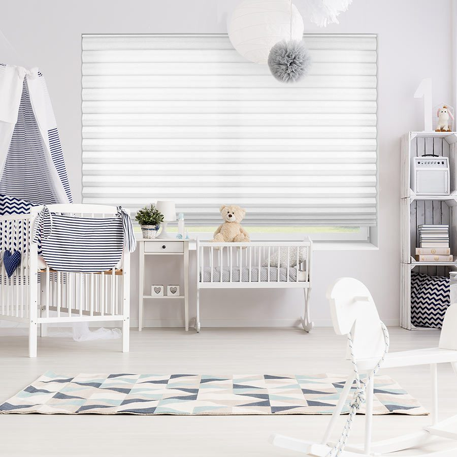 Premier 2 inch Light Filtering Cellular Shades in baby room