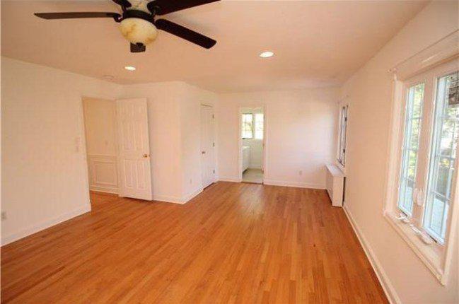 Empty bedroom before