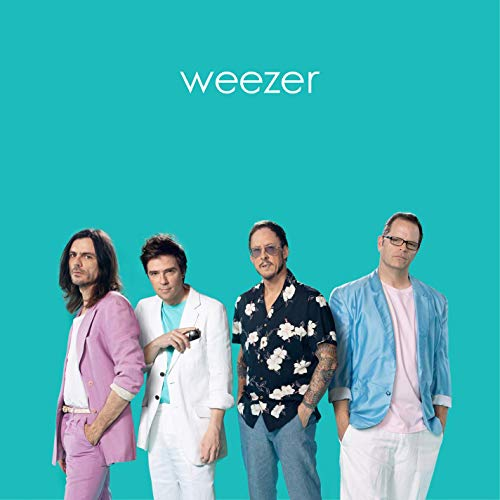 Weezers teal album cover songs