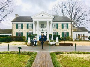 Elvis Presley's Graceland Mansion Front