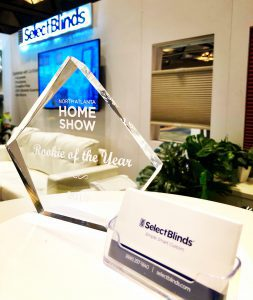 SelectBlinds wins Rookie of the Year award for booth and ATL Home and Garden Show