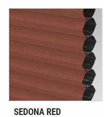 sedona red arizona select blinds color swatch