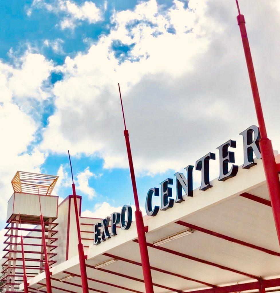 South Florida Fairgrounds Expo Center sign daytime