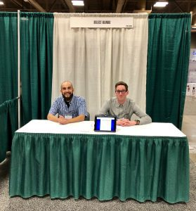 SelectBlinds.com Road Squad at Home and Garden Show with Makeshift Booth
