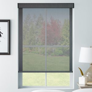 SelectBlinds.com 5% Transparency Solar Shades in Black