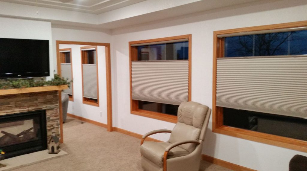 Select Blinds top down bottom up cell shades