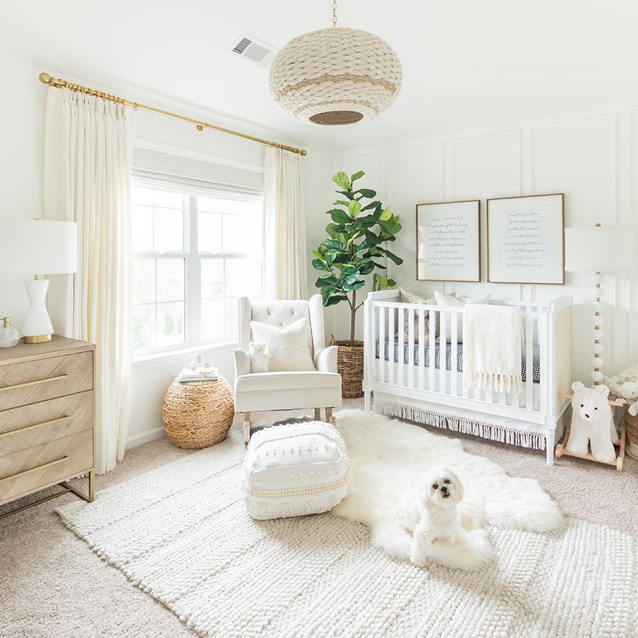 Kelley Nan Nursery with SelectBlinds Shades