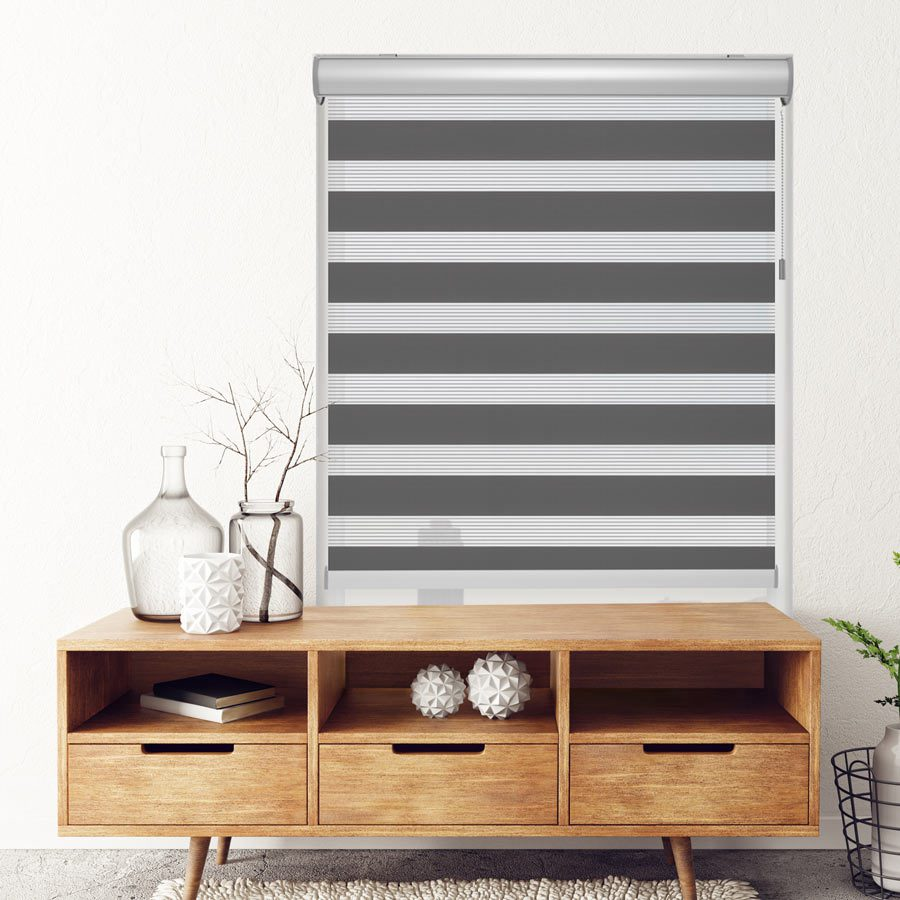 Check out Selectblinds.com Zebra Roller Shades