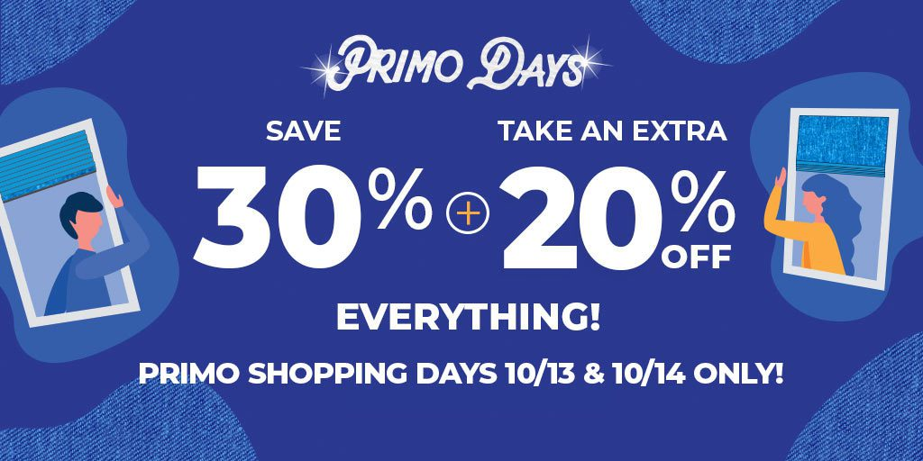 Save 30% + Extra 20% on Everything Oct. 13-14