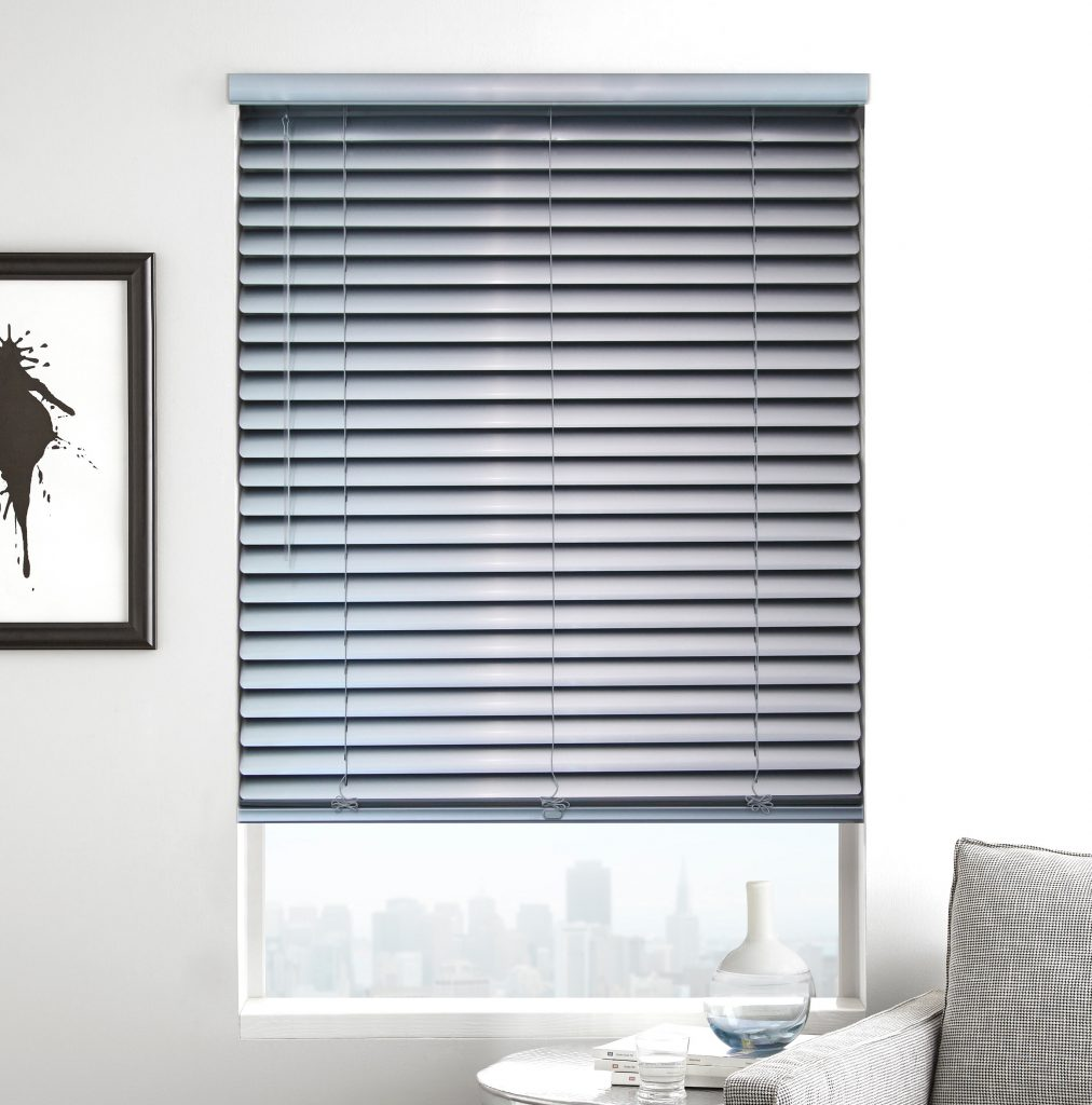 Custom Aluminum Mini Blinds are inexpensive, easy to care for, and long-lasting.