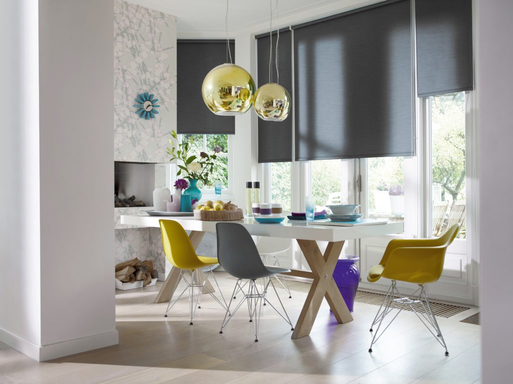 Interior Solar Shades keep the heat and glare out, while leaving you a view to the outside.