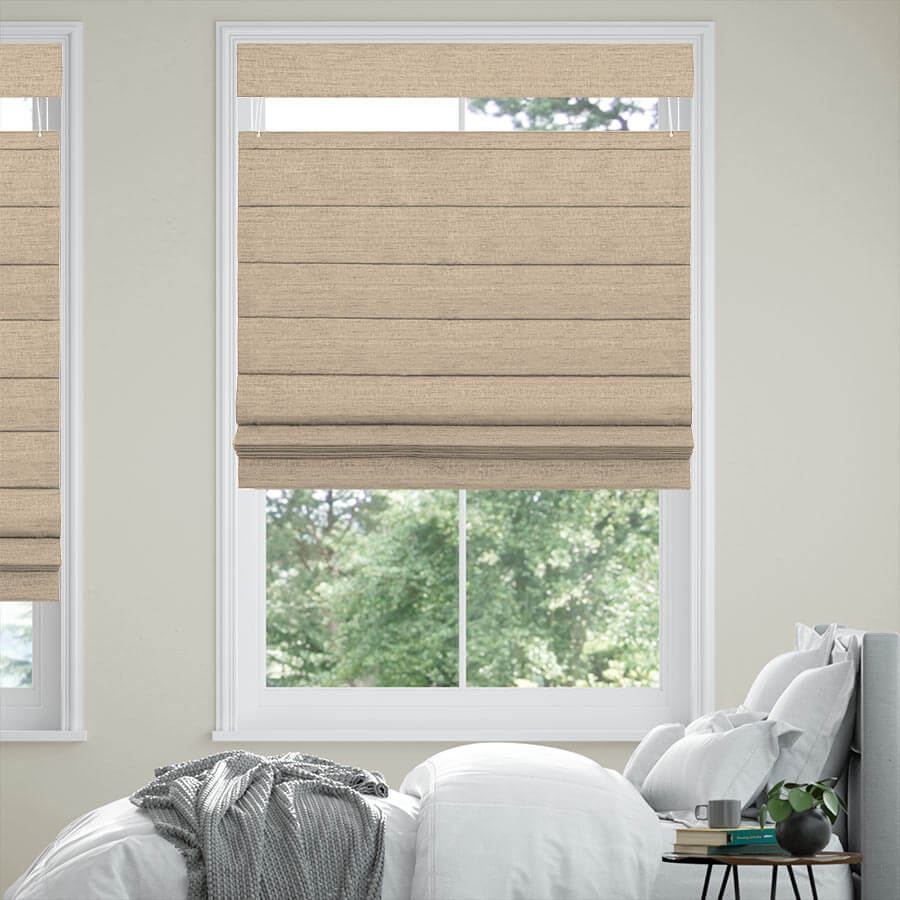 Top Down Bottom Up Roman Shades at SelectBlinds