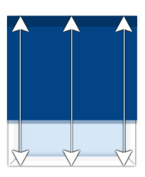 How to measure the height of a window for an outside mount blind.
