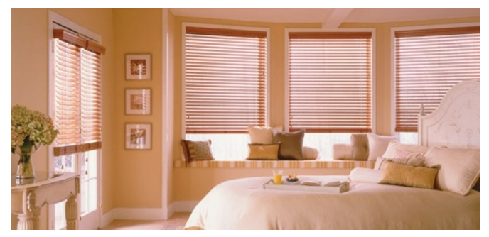 Faux Wood Blinds For Your French Doors!