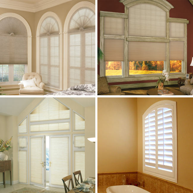 Let us cover your different types of arched windows!